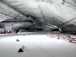 Подземная лыжная арена