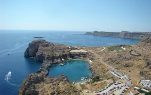 Линдос, бухта Святого Павла